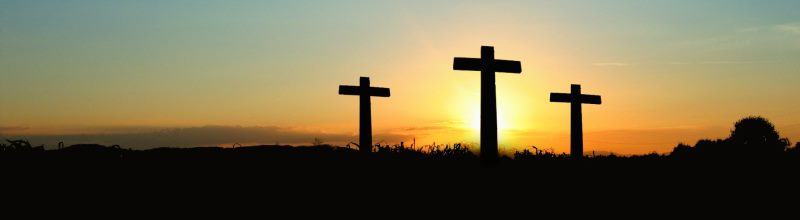 Brentwood Christian counseling - 3 crosses at sunrise